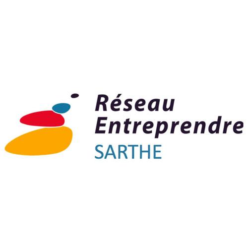 logo réseau entreprendre sarthe