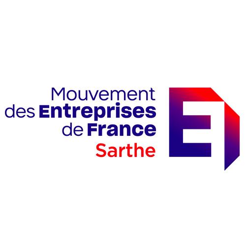logo MEDEF Sarthe